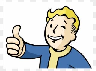 Fallout vault boy fan art thumbs up