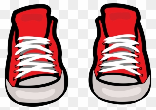 c42388357a9 Converse Shoe Sneakers Chuck Taylor All Stars Clip - Red Converse Clip Art  - Png Download