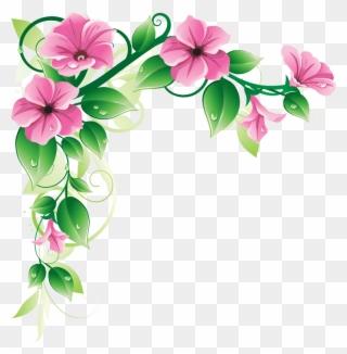 flower garden clipart flower corner designs png transparent png 214404 pinclipart flower corner designs png transparent
