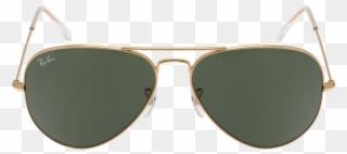 a7ba1819c26 Ray Ban Aviator Large W3234 - Ray Ban Rb3025 Aviator Sunglasses - Gold  L0205 - Size