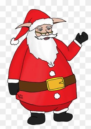 Coloriage Pere Noel A Imprimer Gratuit Santa Claus Clipart 2158674 Pinclipart