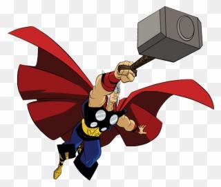 Face Clipart Thor Martelo Do Thor Em Desenho Png Download