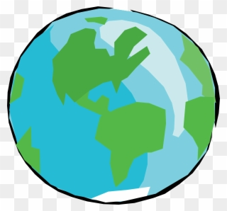 green earth planet with recycle symbol png clip art