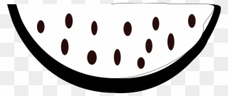 Free Png Watermelon Black And White Clip Art Download Pinclipart