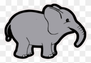 Elephant grey. Free png clip art