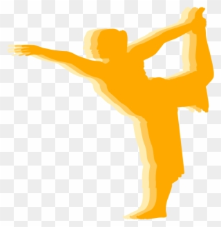 standing forward bend pose  stretching clipart 5573859