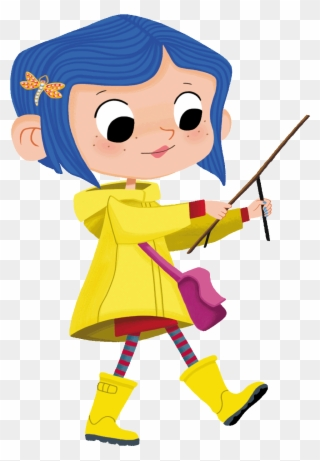 Little Coraline Fanart As A Tribute To One Of My Favorite Clipart 2465991 Pinclipart