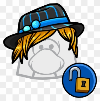 056c2bb169bf8 Graphic Black And White Download Striped Club Penguin Clipart