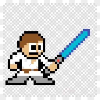 Modèle Pixel Art Star Wars Clipart Luke Skywalker Anakin