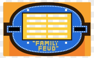 Family Gameshow Familyfeud Feud Blank Clipart 2791205 Pinclipart
