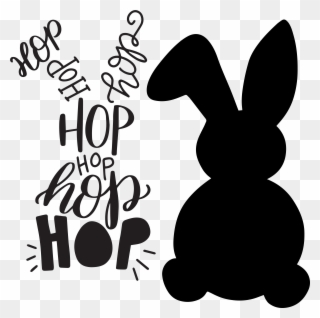 Free Png Bunny Silhouette Clip Art Download Pinclipart