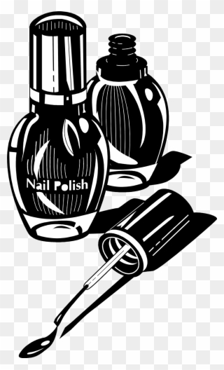 Free Nail Black And White Clip Art Download
