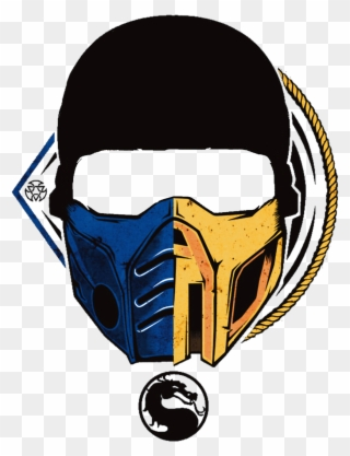 Mortal Kombat Scorpion Mask Photo Clipart Full Size Clipart 3053869 Pinclipart