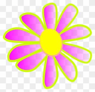 Unique Clipart Neon Flower - Png Download (#3101914
