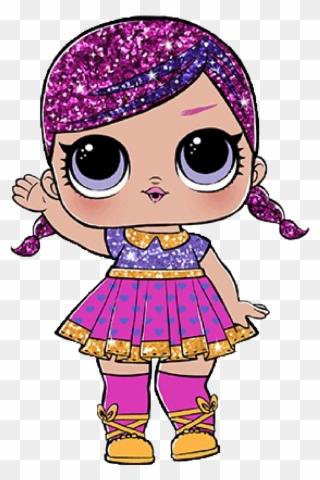 Super Baby Lol Doll Clipart 3109640 Pinclipart