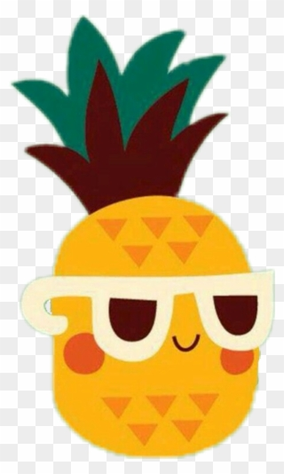 Cartoon Pineapple Clip Art Cute Pineapple Vector Png Transparent