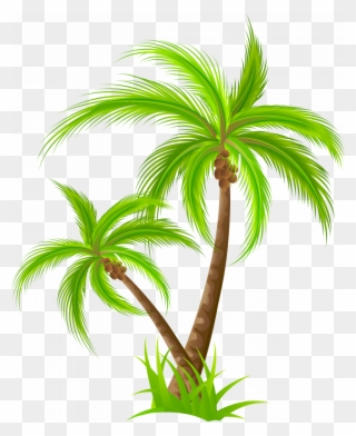 Free Png Christmas Palm Tree Clip Art Download Pinclipart