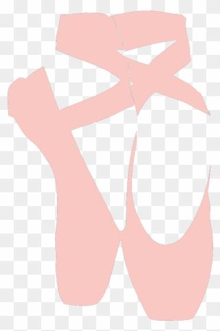 Dance Girl Feet Pink Shoes Ballet Slippers Sapatilha De