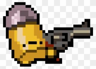 Space Ship Ken X - Enter The Gungeon Hunter Sprite Clipart