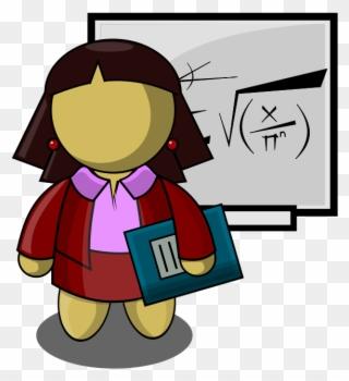 ade6150b89f Archivo - Profesora - Profesiones Para Niños Png Clipart ( 3336888 ...