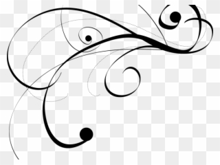Wedding Flourish Cliparts - Flourishes Vector Png Transparent Png (#59642) - PinClipart