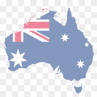 Australia Australian Flag On Australia Clipart 337604 Pinclipart