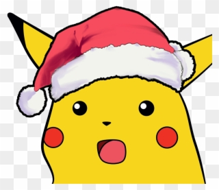 Copy Link Pikachu Meme Transparent Background Clipart Full