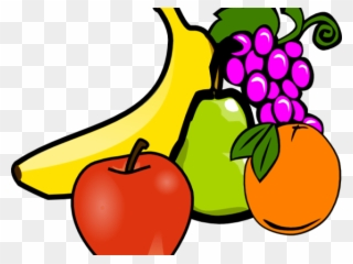 Snack Clipart Fruit Vegetable Fruits And Vegetables Clipart Png