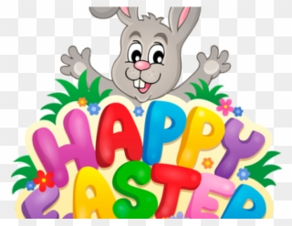 Easter bunny happy. Clipart religious png
