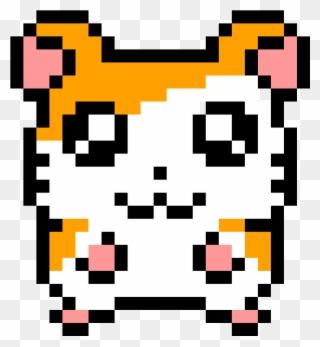 Hamster Easy Cute Pixel Art Clipart Full Size Clipart