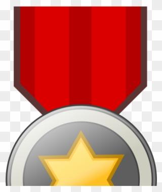 Medal Clipart Prize Lencana Merah Putih Png Download Full Size Clipart 3411705 Pinclipart