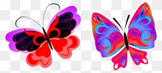 Mariposas Libélulas Desenho Coloridos Para Imprimir