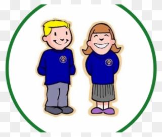 Uniform Clipart Preschool - Primary School Uniform Cartoon - Png Download  (#3476759) - PinClipart