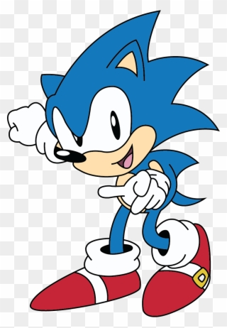 Classic Sonic Png Classic Sonic The Hedgehog 2d Clipart 3491696 Pinclipart
