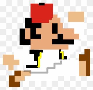 Pixel Art Super Mario Bros Nes Sprite Clipart Full Size
