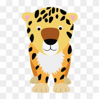 Large Size Of How To Draw Cheetah Print Legs Drawing Leopard Cartoon Clipart 3555276 Pinclipart