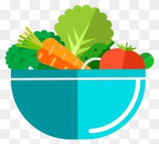 Diced Greens Salads Juices Wraps And Soups Salad Clipart 366473