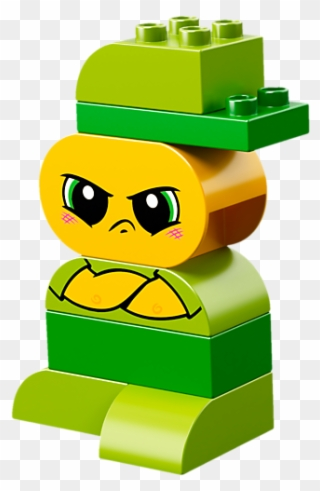 My First Emotions - Lego Duplo Mother Character Clipart