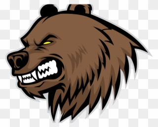 Bear angry. Free png clip art