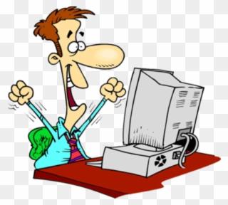 Computer Programmer Cartoon Clipart 3660580 Pinclipart