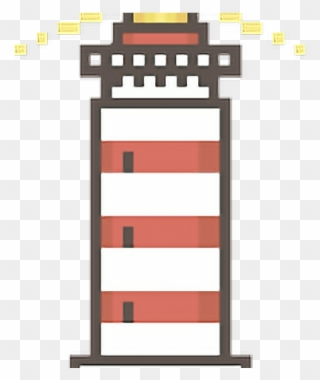 Lighthouse Clipart Pixel Art Cross Png Download 557688