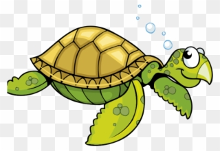 Sea Turtle Clipart Face Green Sea Turtle Cartoon Png Download