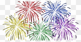 Firework translucent. Free png clip art