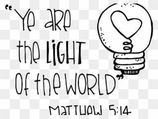 Scripture Clipart Lds Seminary - Light Of The World Clipart