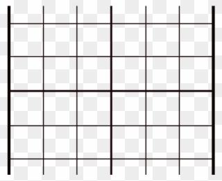 Grid Clipart Transparent - Cross - Png Download (#3921604