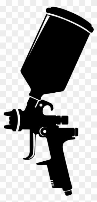 laser gun silhouette vector clipart image spray paint gun vector png download full size clipart 3946600 pinclipart laser gun silhouette vector clipart