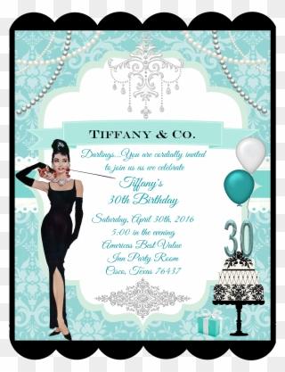 Horizontal Birthday Party Invitation Put On A Party