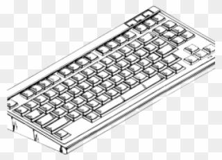 Keyboard Clipart Komputer Computer Keyboard Clipart Png Download 4057066 Pinclipart