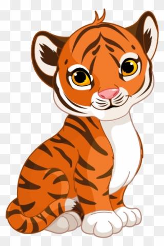 2737704b8 Tiger Cub - Sleeping Tiger Clip Art - Png Download (#245644 ...