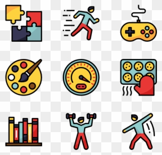 Hobbies Icon Vector Electricity Png Clipart Full Size Clipart 4116471 Pinclipart